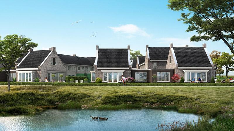 Semi bungalow Bloemenveld Herveld-web